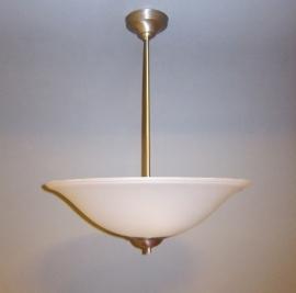 Hanglamp schotel met rand