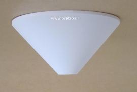 Plafondkapje kunststof wit