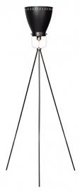 Vloerlamp Acate driepoot koper