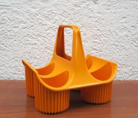 Flessenrek curver oranje