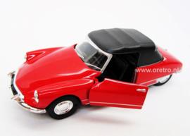 Modelauto Citroën DS 19 rood  1:34