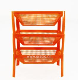 Stapelrek Laricol kunststof oranje
