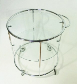 Tea trolley chroom 2