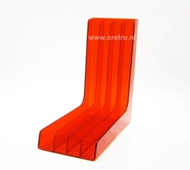 LP houder Plaston Swiss oranje