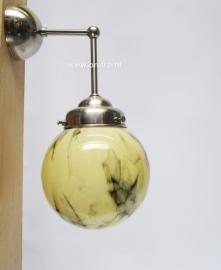 Wandlamp Bol 15 marmer