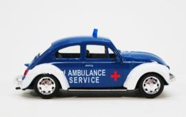 Modelauto VW Beetle Ambulance service  1:43