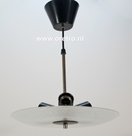 Hanglamp schaal matglas