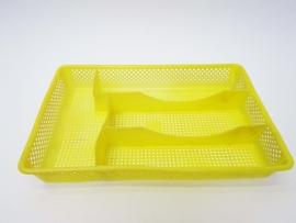 Bestekbak geel