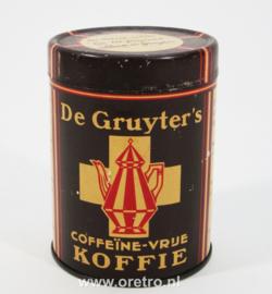 Blik de Gruyter coffeïnevrije koffie