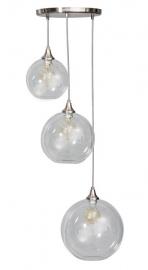Hanglamp Calvello trio glas