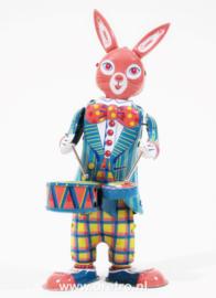 konijn met trommels