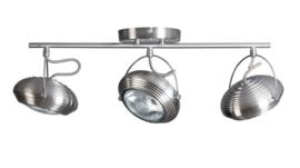 Plafondlamp Mileto 3 spot stang