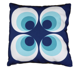 Kussen Ramona blauw