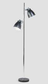 Vloerlamp Acate zwart