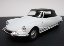Modelauto Citroën DS 19 wit  1:34