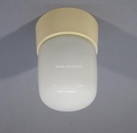 Plafondlamp glas tube klein