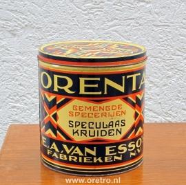 Blik Orenta speculaaskruiden