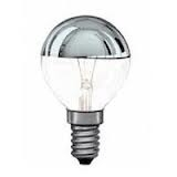 Kopspiegellamp E14 15 watt kogellamp