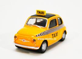 Modelauto Nuovo Fiat 500 taxi  1:43