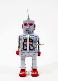 Robot met vuursteenogen