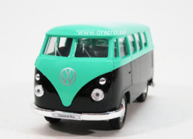 VW bus T1 blauw en mint