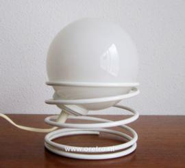 Tafellamp spiraallamp glasbol
