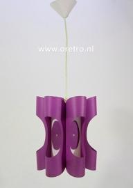 Hanglamp paars kunststof
