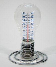 Thermometer gloeilamp