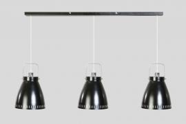 Hanglamp acate balk zwart