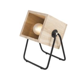 Tafellamp Hefti hout