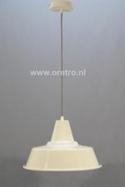 Hanglamp industrieel kap wit