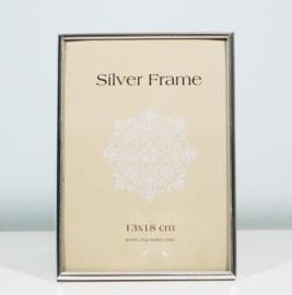 Fotolijst 13 x 18 zilver