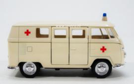 Modelauto VW bus T1 ambulance  1:34