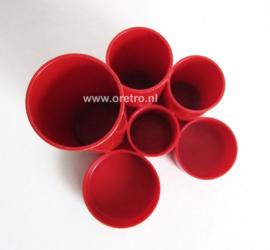 Pennenbak rood