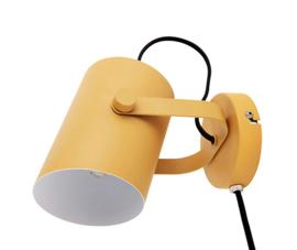 Wandlamp Snazzy geel