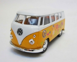 VW bus T1 geel Hippie
