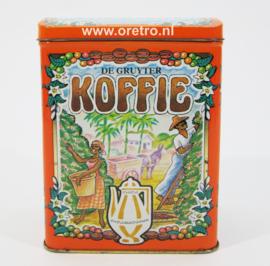 Blik de Gruijter koffie