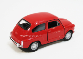 Fiat 600 rood