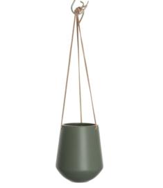 Hangbloempot Skittle groen hoog