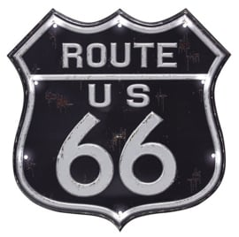 Wand deco Route 66 L