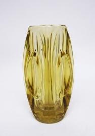 Art Deco Vaas amber