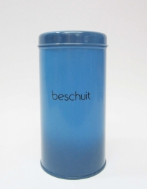 Beschuitbus Brabantia blauw