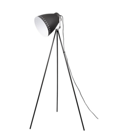 Vloerlamp Mingle driepoot zwart