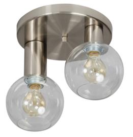 Plafondlamp Calvello dubbel