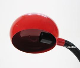 Bureaulamp Herda rood flex