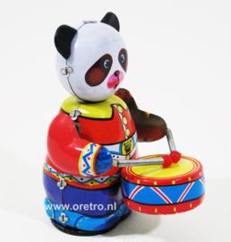 Panda met trommel
