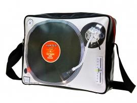 Schoudertas Grammofoonplaat