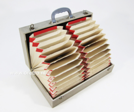 Muziek singles koffer