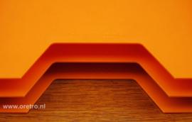 Lp houders Discofoon oranje