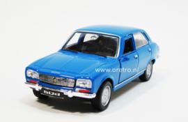 Peugeot 504 blauw